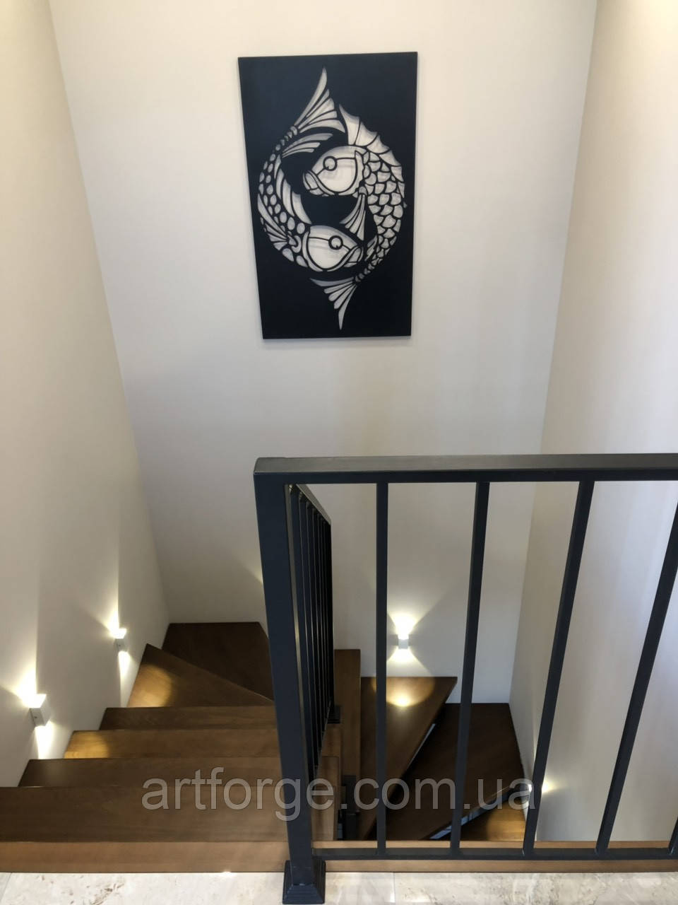Лестница в современном стиле Лофт, Хай-тек, Минимализм
