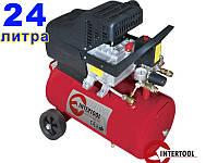 Intertool PT-0009 бытовой компрессор для продувки
