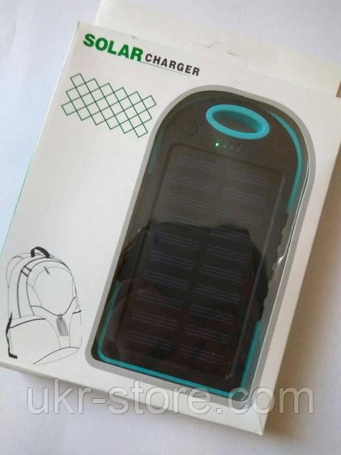 Портативное зарядное устройство Solar Charger Power Bank 20000 mAh.