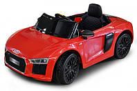 Детский электромобиль Audi R8 JJ 2198 на пульте, большой електромобиль Ауди