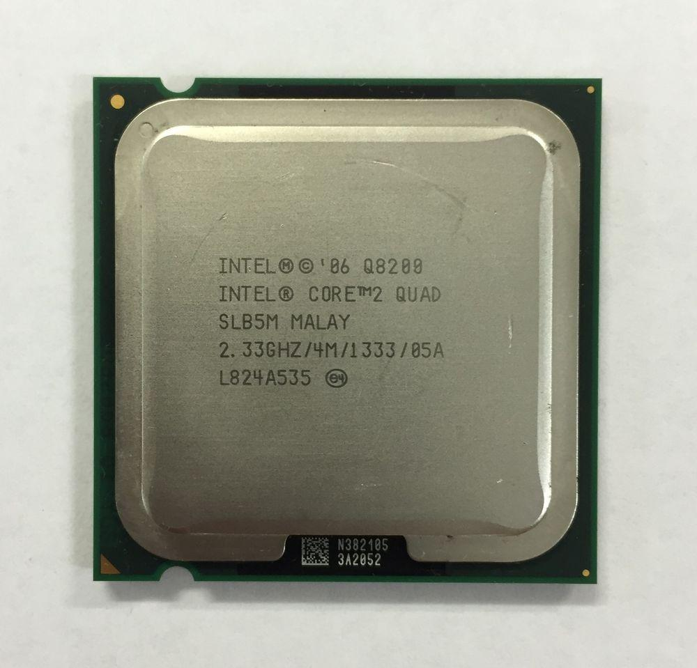 Процессор Intel Core2 Quad Q8200 2.33GHz/4M/1333 (SLB5M) s775, tray