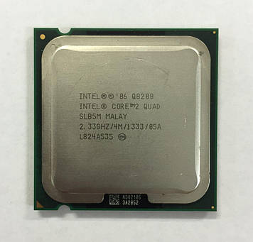 Процессор Intel Core2 Quad Q8200 2.33GHz/4M/1333 (SLB5M) s775, tray