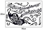 Интерьерная наклейка - Бабочка  (170х50см)  , фото 6