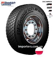 Шина Вантажна 315/80 R22,5 M+S/3PMSF ROUTE CONTROL D провідна вісь BFGoodrich (Michelin) Польща