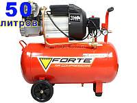 Forte VFL-50 двухцилиндровый компрессор для покраски