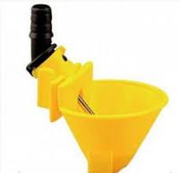 Микрочашечная поилка со штоком (МК-3) желт.