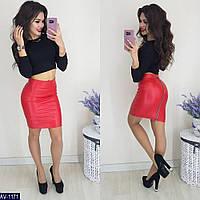 d9bae2d3844 Женская стильная юбка эко-кожа размер 42 44 46 7 км Одесса есть цвета