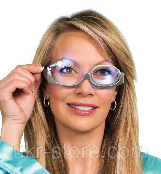 Очки для Нанесения Макияжа 3X Magnification Glasses N, фото 1