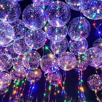 Воздушные шарики бобо с подсветкой Bobo Led 131806