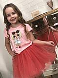 Красная   юбка ту-ту   для девочки Жемчужинки, фото 3