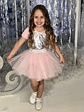 Красная   юбка ту-ту   для девочки Жемчужинки, фото 5