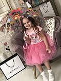 Красная   юбка ту-ту   для девочки Жемчужинки, фото 9