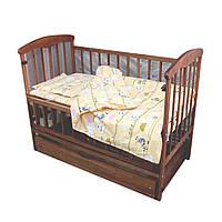 Комплект постельного белья Moorvin Gold Lux для новорожденных 120х90 GLP6060234, КОД: 142876