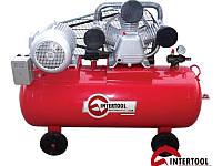 Intertool PT-0040 мощный компрессор высокого давления
