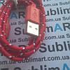 USB кабель усиленный 100 см для iPhone, iPod, iPad 8 pin (красный)