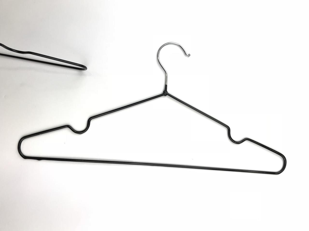 Плечики металические крепкие антискользящие