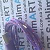 USB кабель усиленный 100 см для iPhone, iPod, iPad 8 pin (фиолетовый)