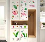 Интерьерная наклейка - Розовый фламинго (135х77см)  , фото 6