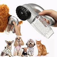 Машинка Для Вычесывания Шерсти Собак и Кошек Pet Vacuum, фото 1
