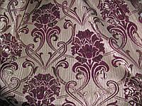 Шторная ткань парча