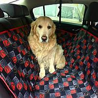Автогамак на задние сиденья авто, (защитная накидка, авто чехол) для перевозки собак в машине DOX Standart