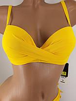 2e605e04c36ec Купальник Джунгли 3918 с двумя плавками желтый на 44 46 48 50 52 размер.,
