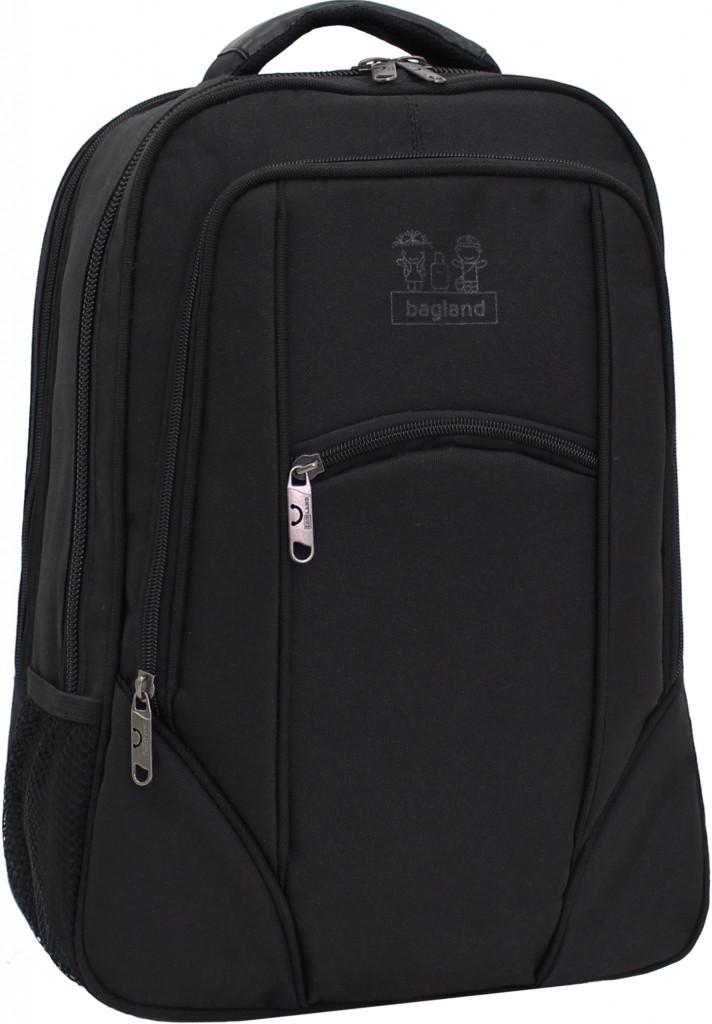 Украина Рюкзак для ноутбука Bagland Рюкзак под ноутбук 537 21 л. Чёрный (0053766)