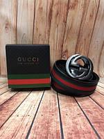 Кожаный ремень в стиле Gucci, Гуччи (унисекс)