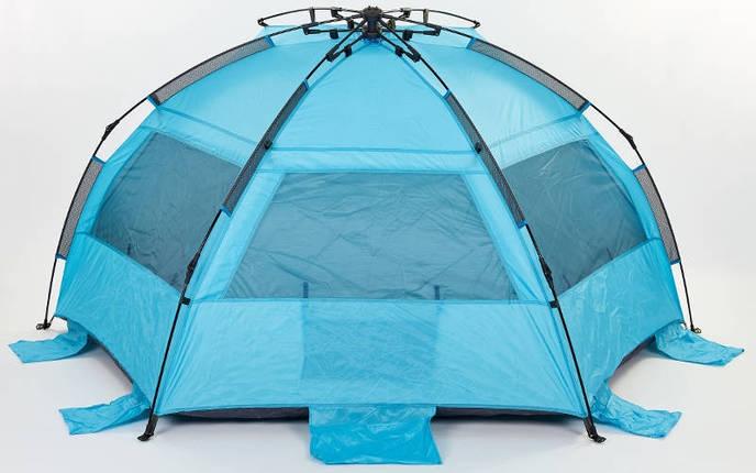 Палатка 3-х местная универсальная самораскладывающаяся SY-N001-B (225x130x130 см), фото 2