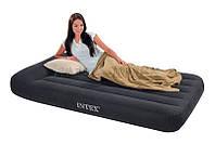 Полуторный надувной матрас Pillow Rest Classic Intex 66768
