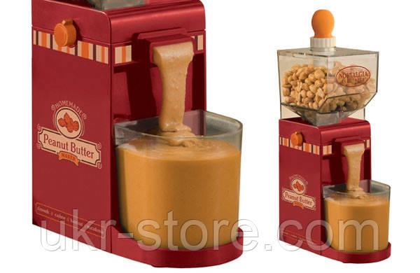 Аппарат для приготовления арахисового масла Peanut Butter Maker Nostalgia Electrics