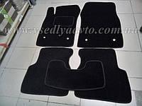 Ворсовые коврики в салон OPEL Vectra C с 2002-2008 гг. (Черные)