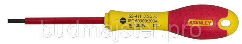 Викрутка Stanley електрика ізольована під прямий кліц SL3 5х75мм 1000V