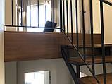 Перила, огорожі в сучасному стилі Лофт, Хай-тек, Мінімалізм, фото 3