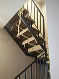Перила, огорожі в сучасному стилі Лофт, Хай-тек, Мінімалізм, фото 6