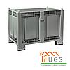 Контейнер пластиковый крупногабаритный контейнер на 4-х ножках 1200x800x850мм