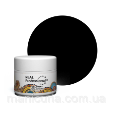 Гель-краска Real Professional 31.01 Черная, 6 мл