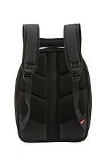 Рюкзак Zipit SHELL цвет BLACK & STITCHES (черный с стежками), фото 2