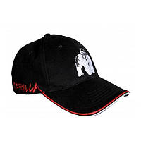 Gorilla Wear, Бейсболка мужская Core Cap Black/Red, фото 1