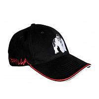 Gorilla Wear, Бейсболка мужская Core Cap Black/Red