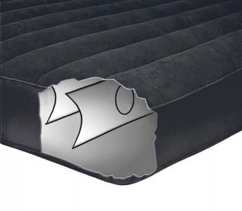 Полуторный надувной матрас Pillow Rest Classic Intex 66768, фото 2