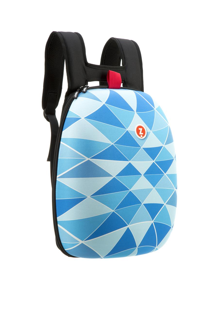 Рюкзак Zipit SHELL цвет BLUE (голубой)