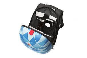Рюкзак Zipit SHELL цвет BLUE (голубой), фото 2
