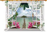 Интерьерная наклейка - Окно  (90х60см)