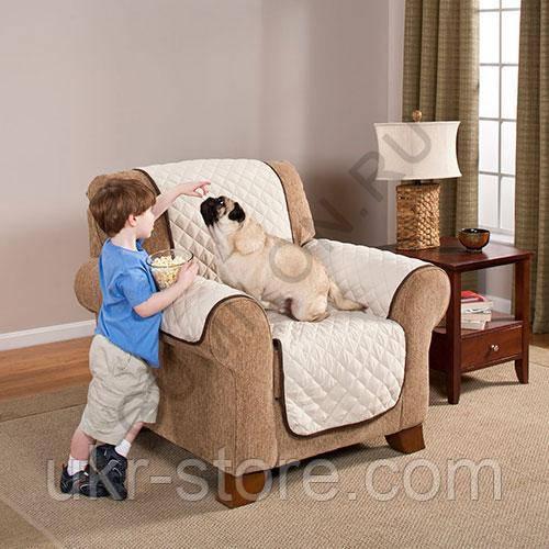 Покрывало двухстороннее для кресла Couch Coat., фото 1