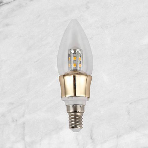 """Лампочка """"Кристалл"""" LED TQ1742 E14 5W 2700K, фото 2"""