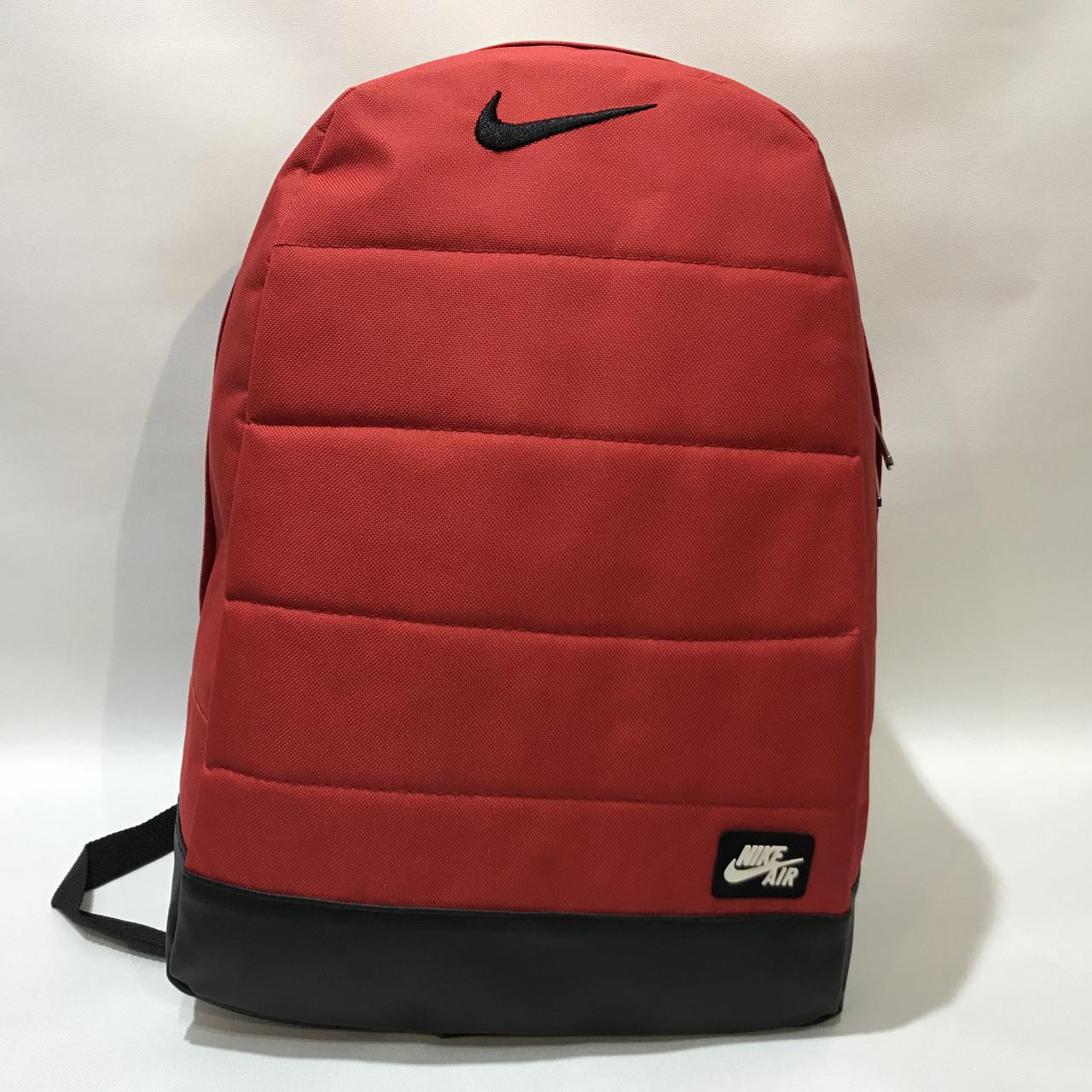 Рюкзак городской спортивный, мужской красный Nike Найк