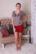 Женский домашний костюм из вискозы для сна и отдыха Nicoletta 90290