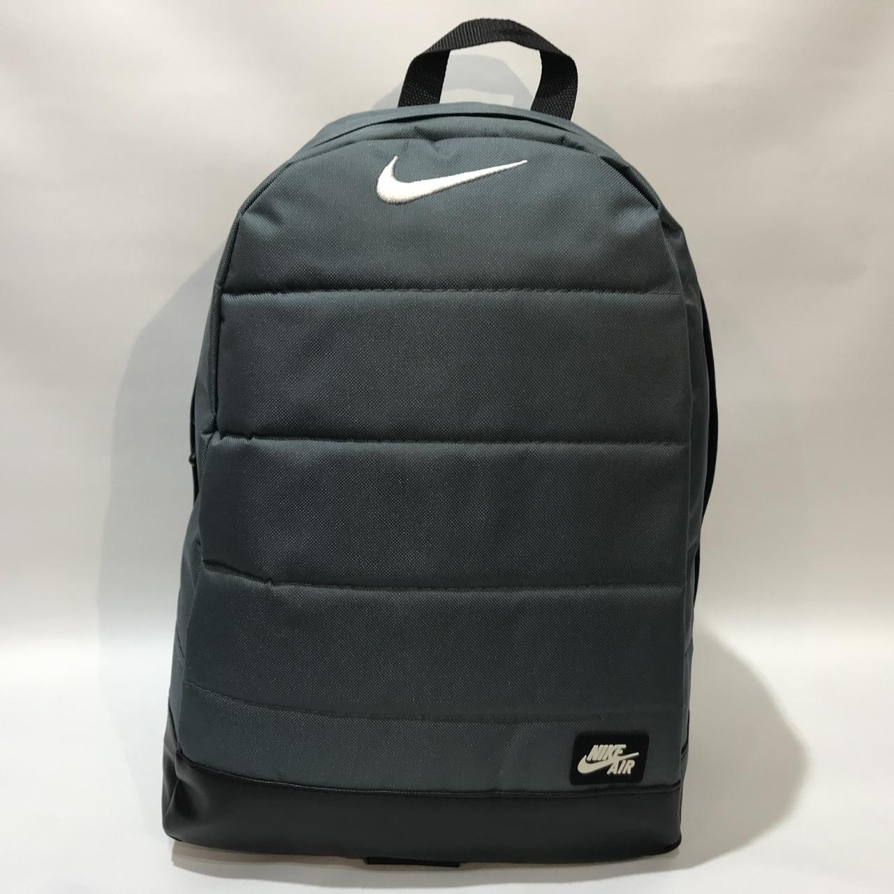 Рюкзак городской спортивный, мужской зеленый Nike Найк