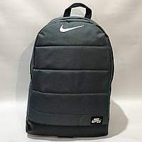 Рюкзак городской спортивный, мужской зеленый Nike Найк  , фото 1